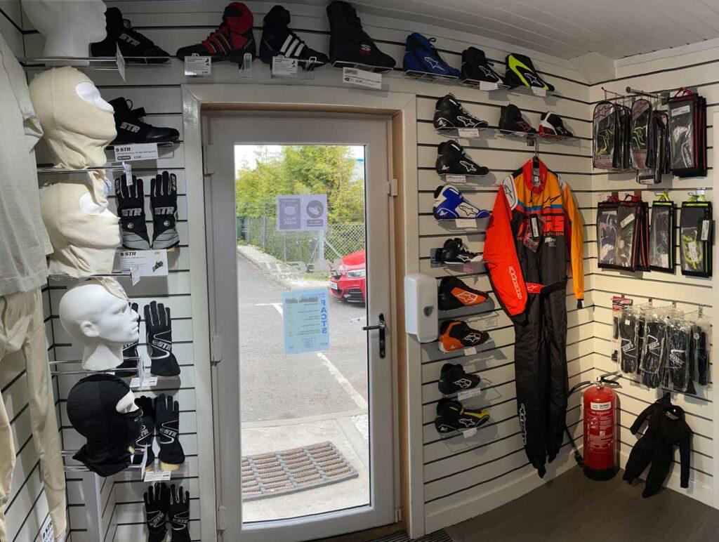 McGill Motorsport Showroom View