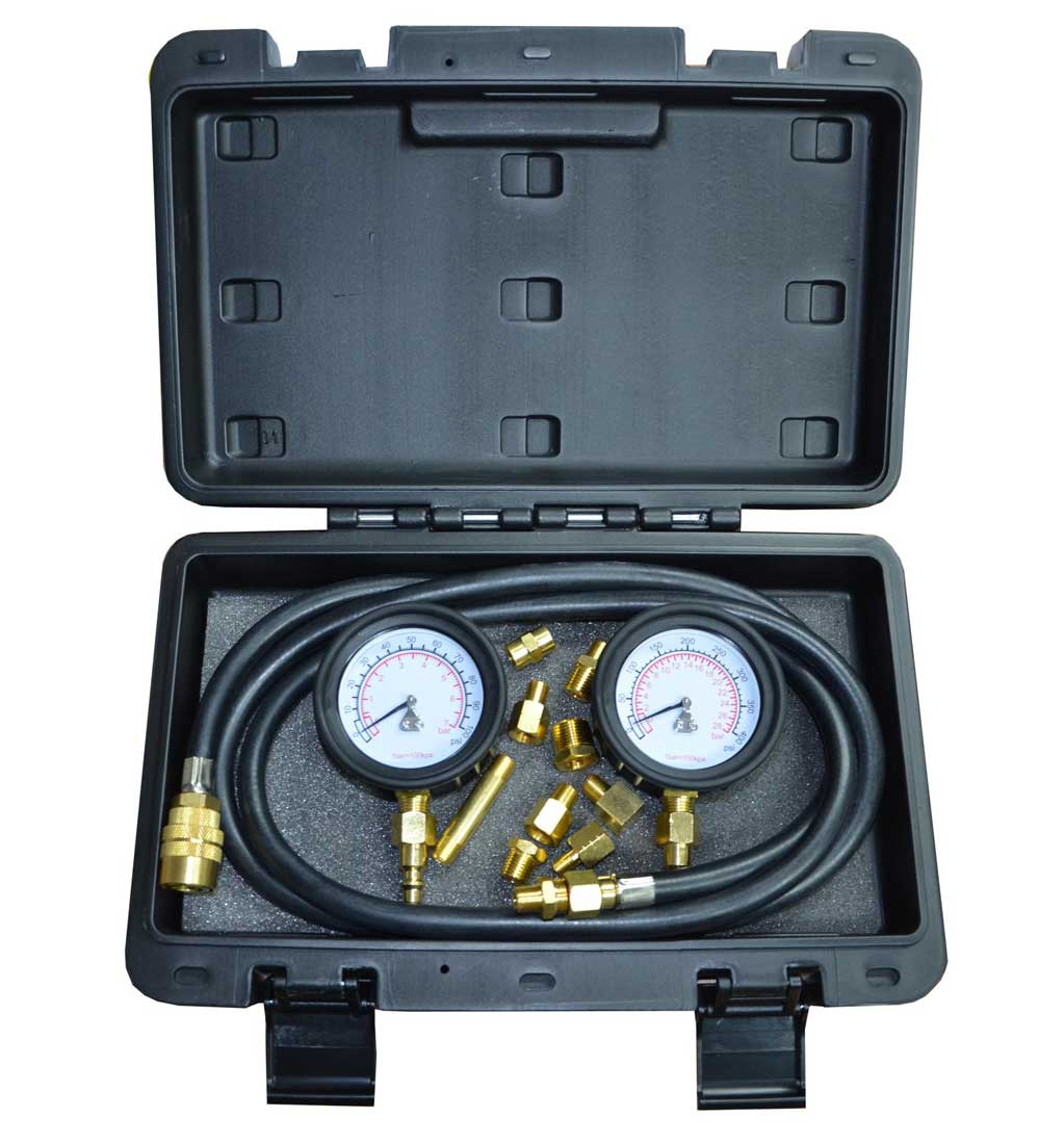 "STR 2.5"" Twin Engine Oil Pressure Tester (Low & High Pressure)"
