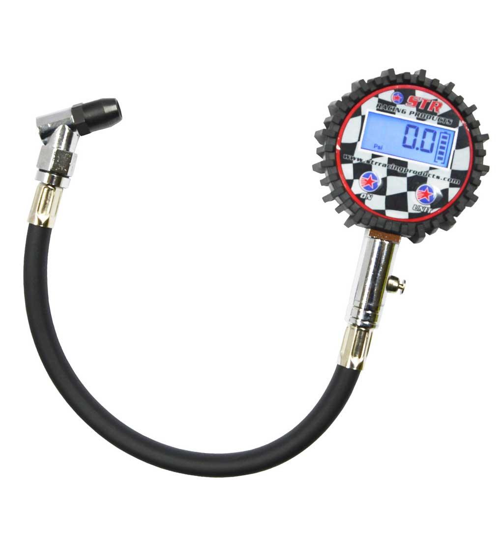 STR Digital Tyre Pressure Gauge -  0-200 PSI