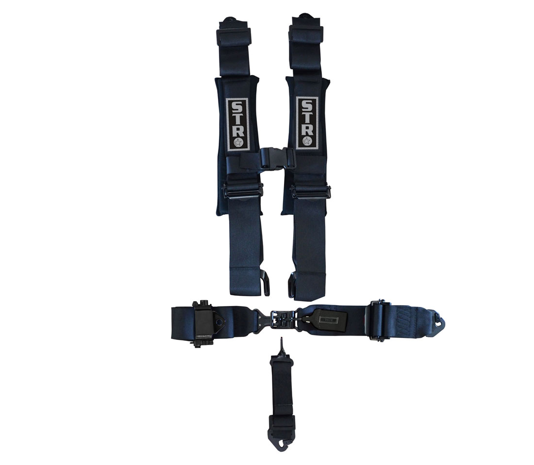 STR 5-Point Ratchet Harness - Black