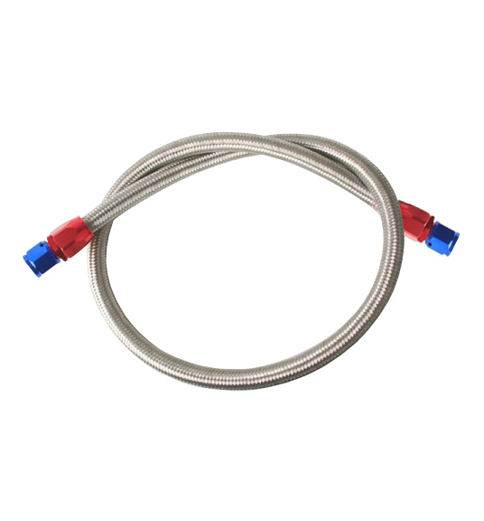 AN8 Fuel/Oil Hose Kit with Fittings - Stainless Steel Braided