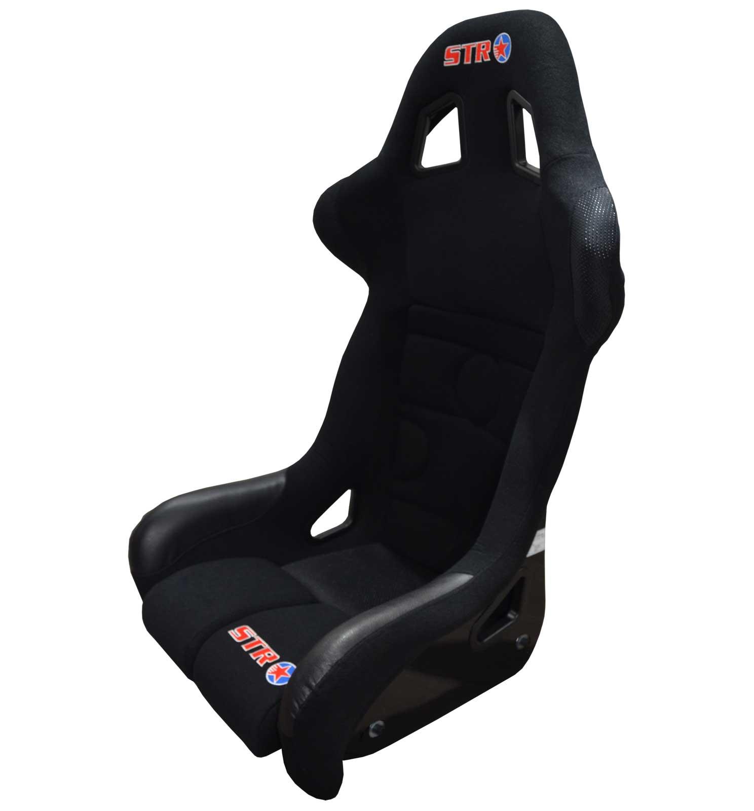 STR 'Angolo' FIA Approved Race/Rally/Bucket Seat  | Black - 2023