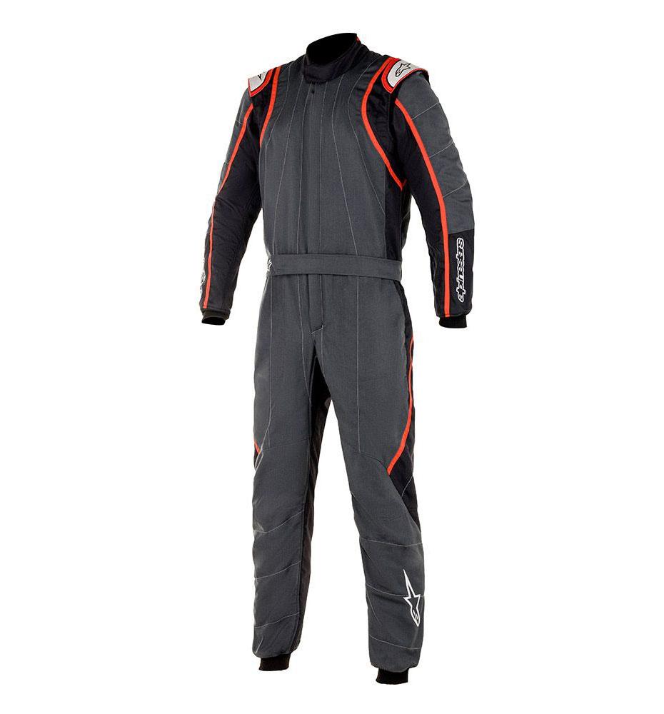 Alpinestars GP Race V2 Suit - Anthracite/Black/Red