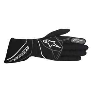 Alpinestars Tech-1 ZX Gloves (C355ZX117) - Black/White