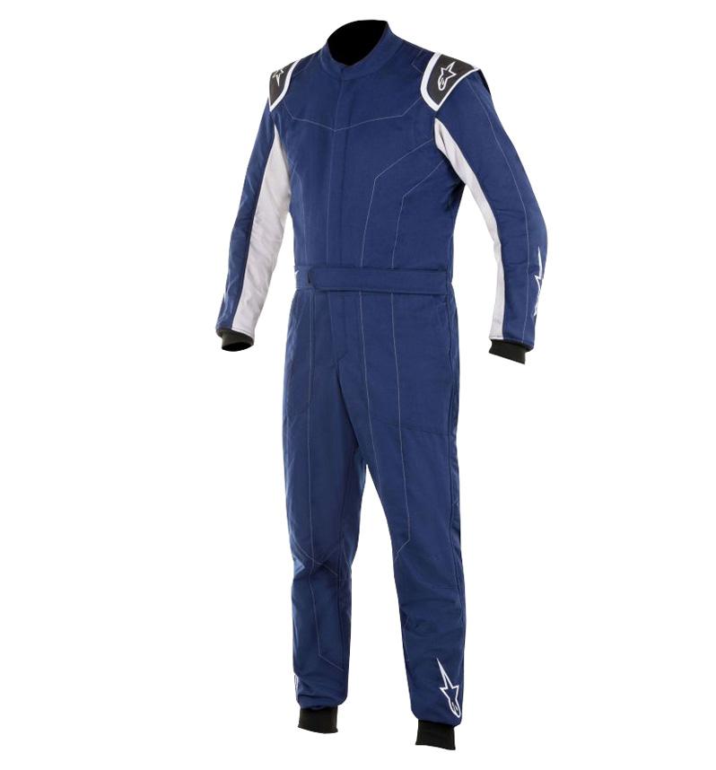 Alpinestars Delta Race Suit - Blue Navy/Silver