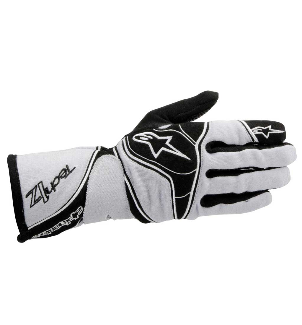 Alpinestars Tech 1-Z Gloves - Grey/Black