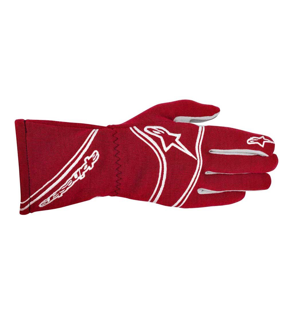 Alpinestars Tech 1 Start Gloves - Red