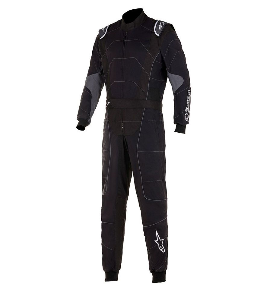 Alpinestars KMX-3 V2 Suit - Black/Anthracite