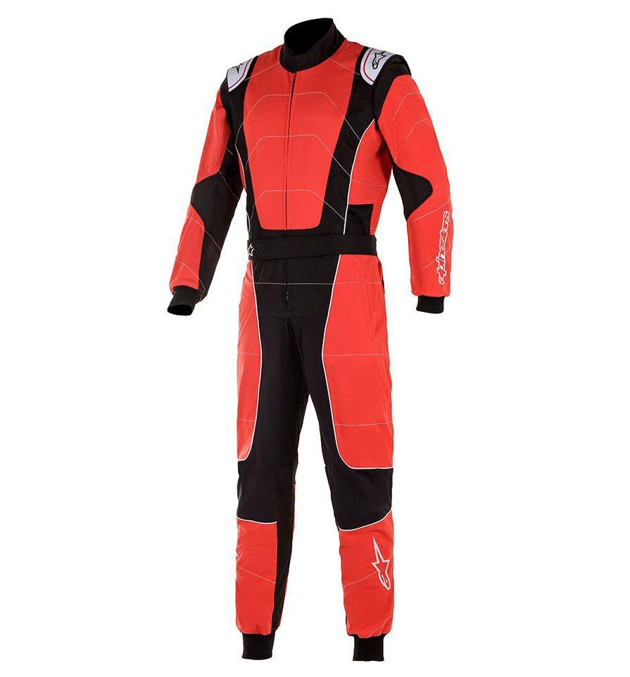 Alpinestars KMX-3 V2 Suit - Red/Black