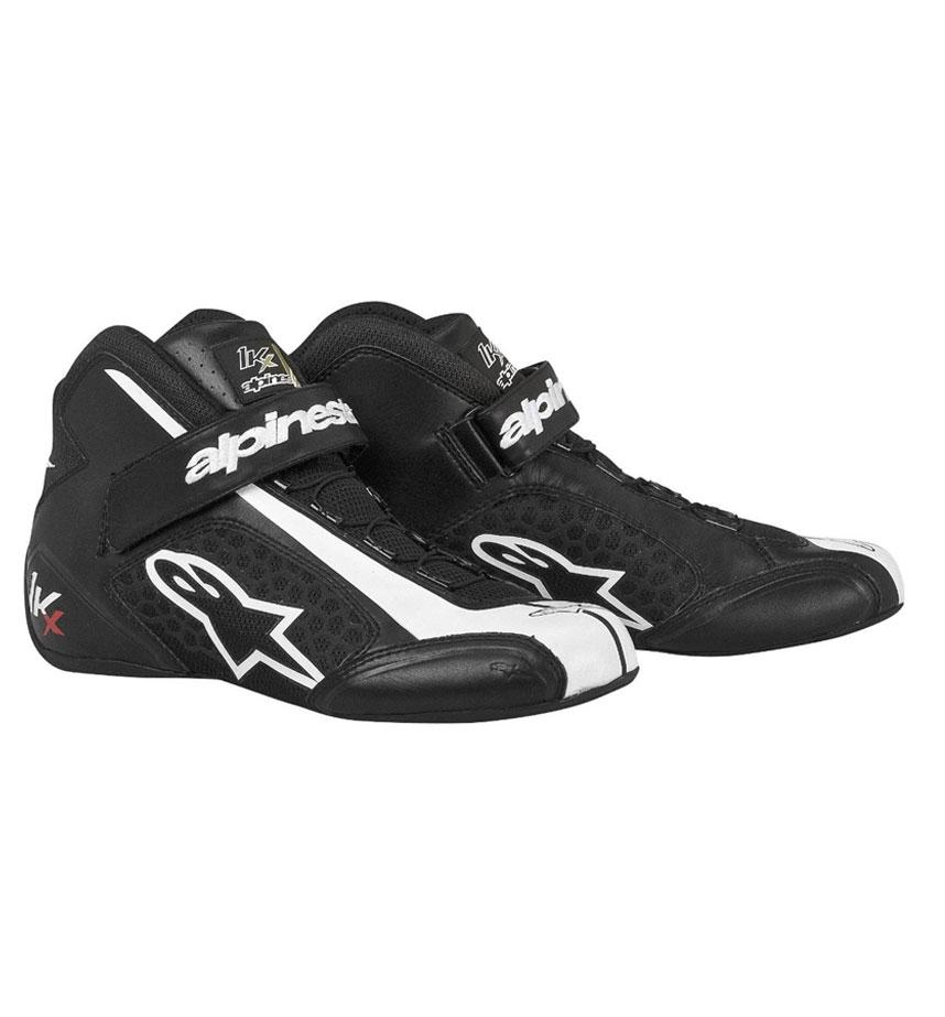 Alpinestars Youth Tech 1-KX Shoe - Black/White
