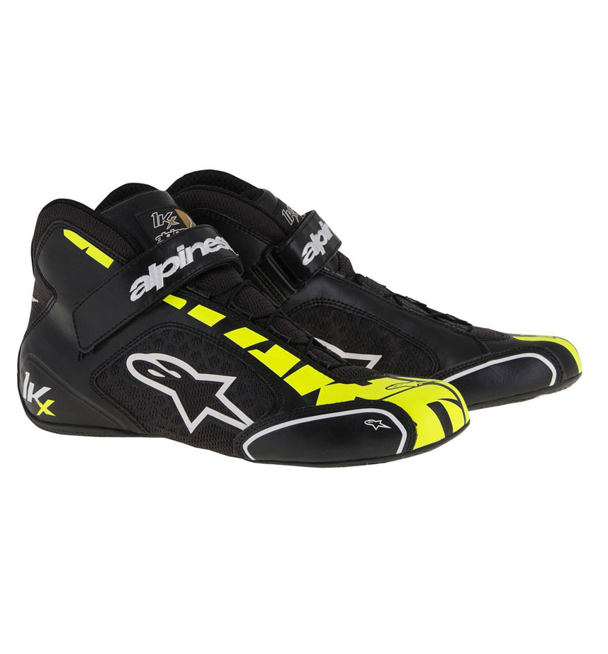 Alpinestars Tech 1-KX Shoe - Black/Yellow