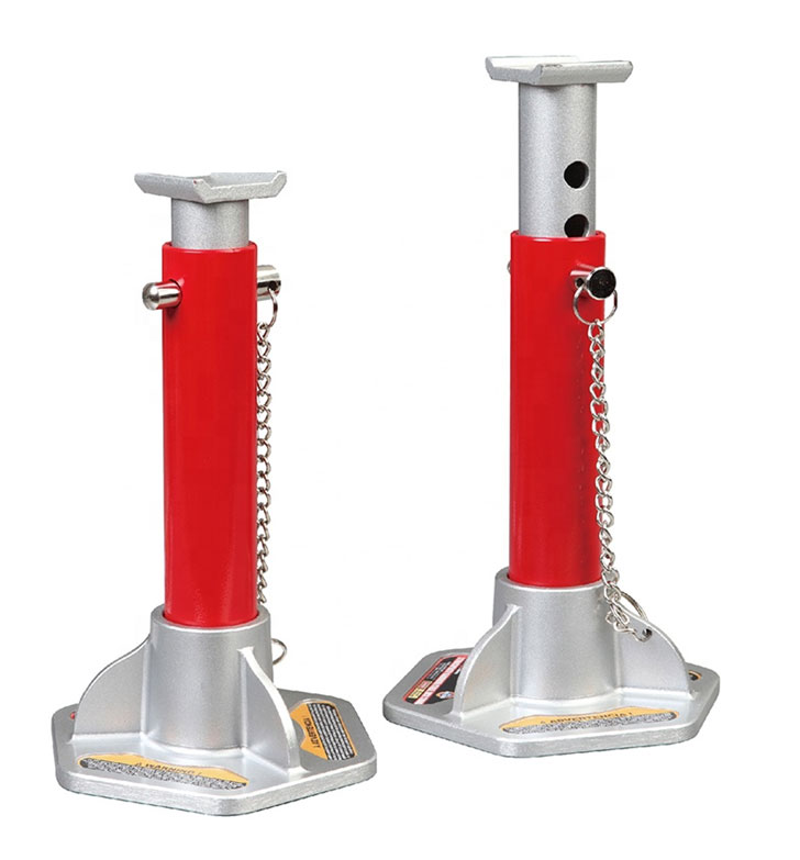 Big Red 3 Tonne Aluminium Steel Stable Floor Jack Stands