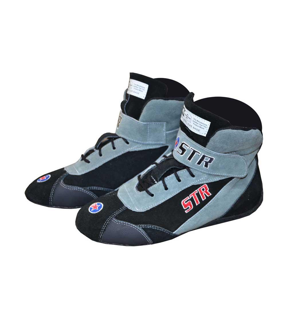 STR 'Comfort' Race Boots - Black/Grey