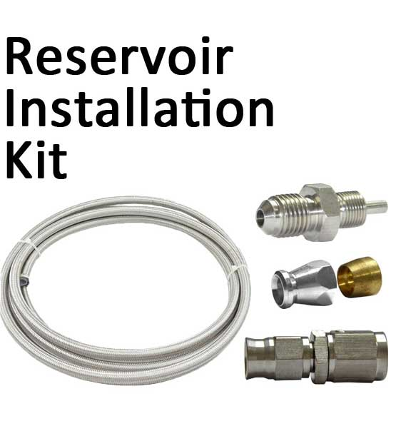 Brake/Clutch Fluid Reservoir Fitting Kit