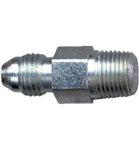 """Adaptor 1/8 NPT Male to 3/8 """" UNF Male Reducer"""