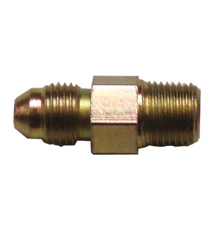 Adaptor 1/8 NPT x M10x1mm Male Fitting - Zinc Plated