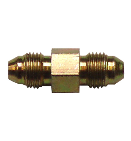 Adaptor M10x1mm Male to Male Fitting - Zinc Plated