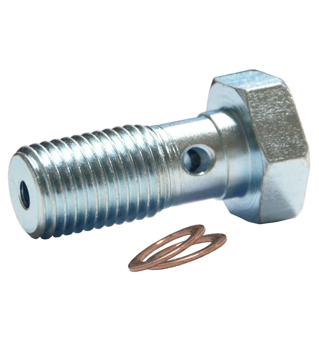 "7/16"" UNF Banjo Bolt - Zinc Plated"