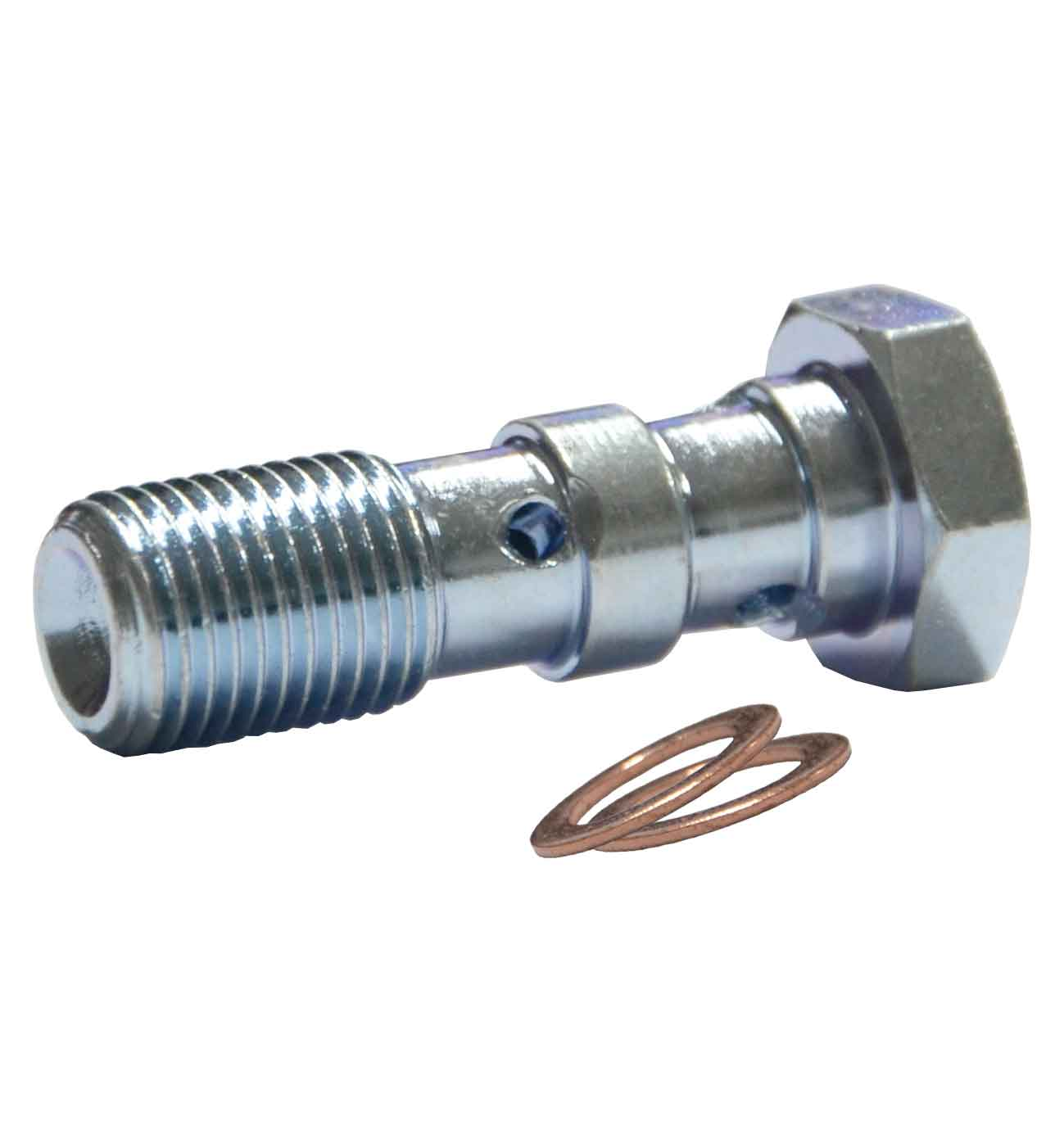M10x1mm Double Banjo Bolt - Zinc Plated