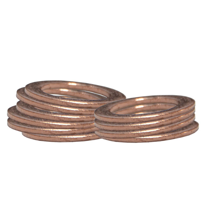 Copper Crush Washers for use with Banjo Fittings