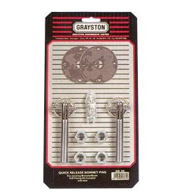 Grayston Quick Release Bonnet Pin Kit