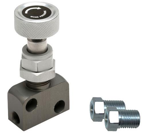 Adjustable Brake Proportion Valve - Knob Type