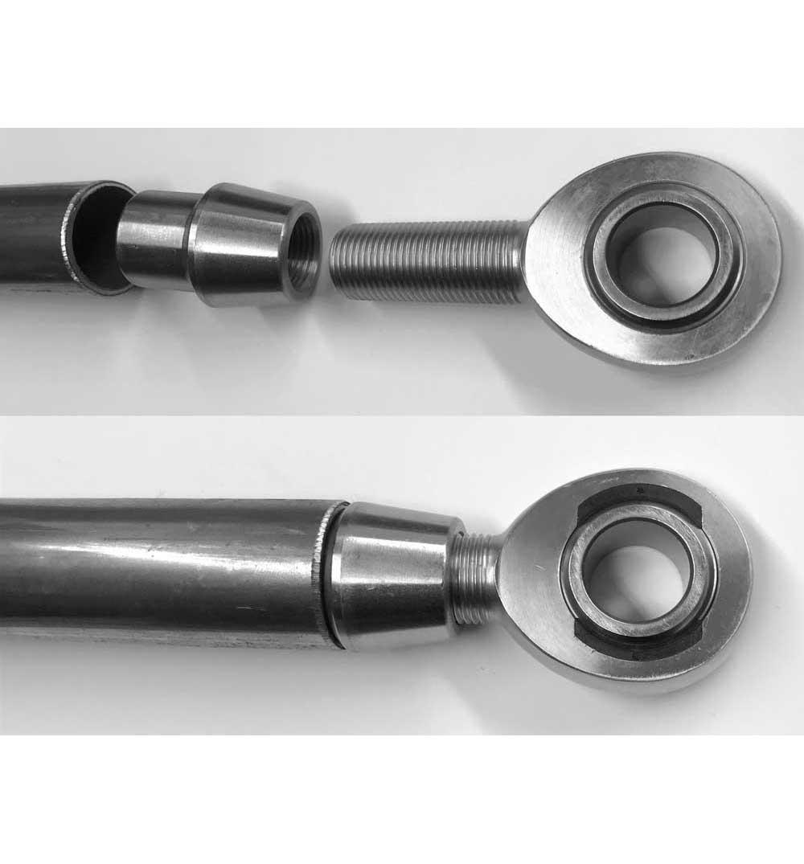 M22x1.5 Left Hand Weld-In Threaded Bung