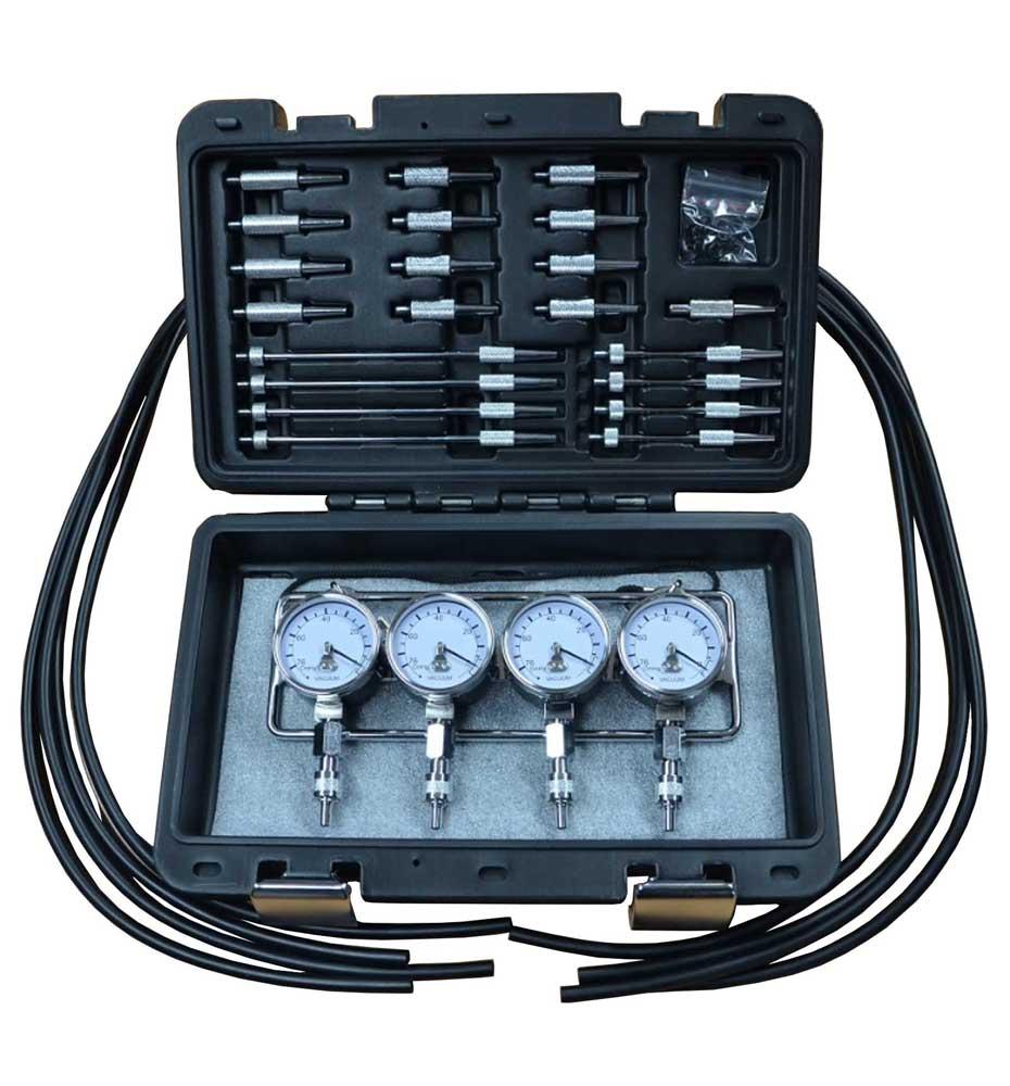 Carburettor Vacuum Synchronizer Balance Gauge Engine Diagnostic