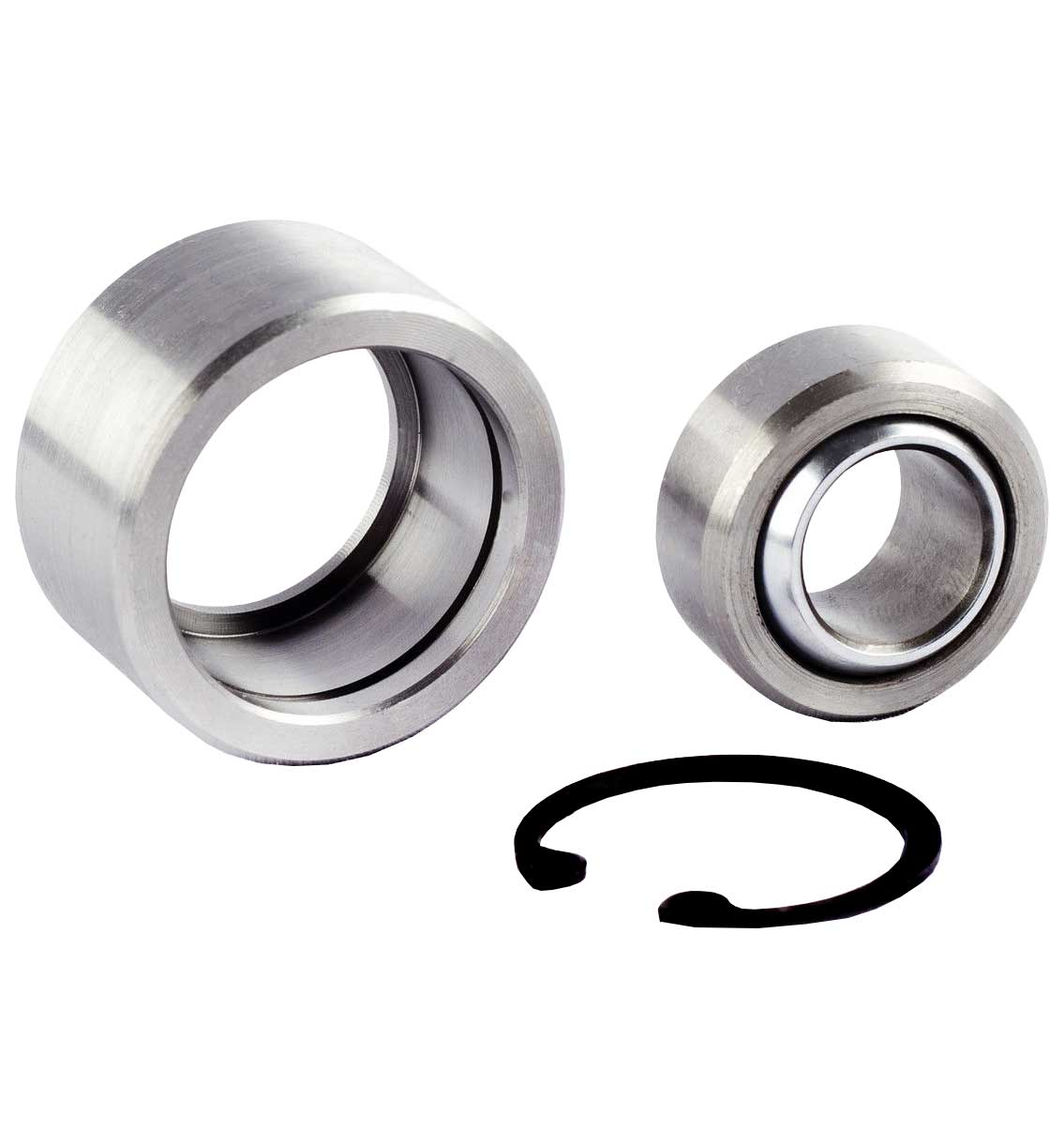 "5/8"" Spherical Bearing + 3/4"" Housing/Cup + Circlip Complete Kit"