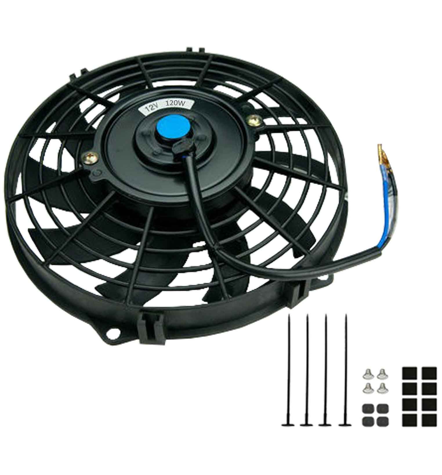 "12"" Universal Slimline Electric Cooling Fan"