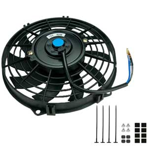 "9"" Universal Slimline Electric Cooling Fan"