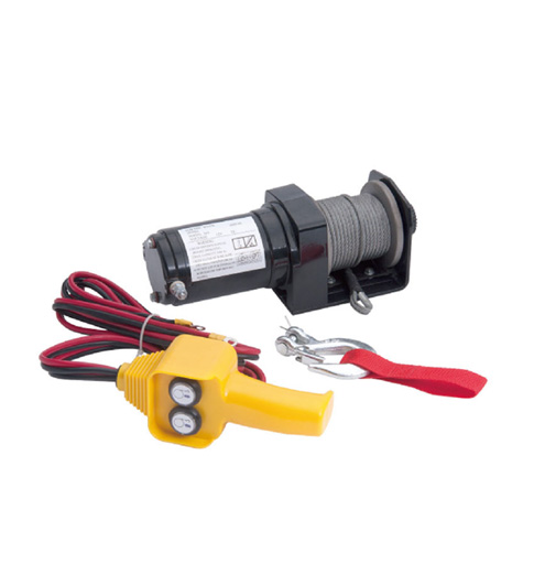 Big Red Electric Winch 2000lbs (907kg)