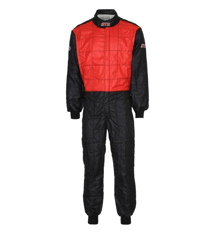 STR '3 Layer' Racesuit - Red/Black