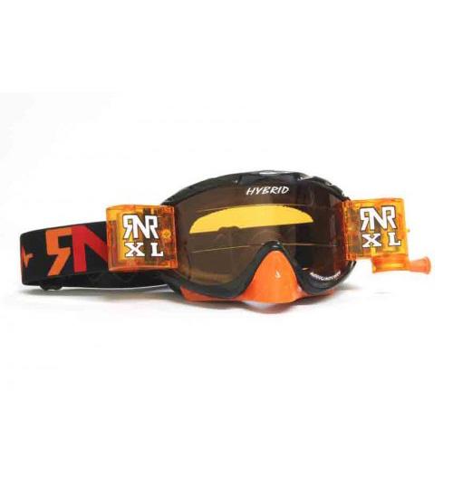 RNR 'Hybrid XL' Goggles - Orange/Blue