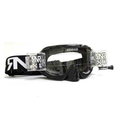 RNR 'Hybrid XL' Goggles - Black