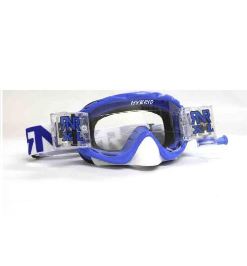RNR 'Hybrid XL' Goggles - Nobo Blue