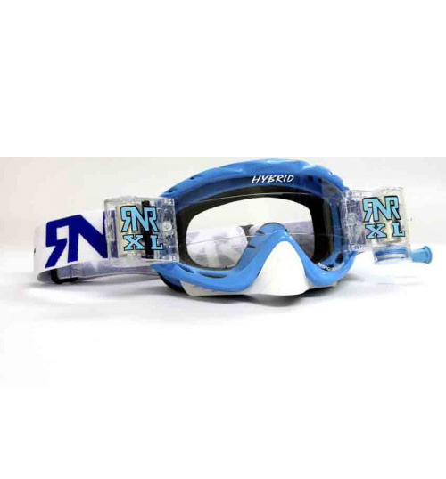 RNR 'Hybrid XL' Goggles - Pacific Blue