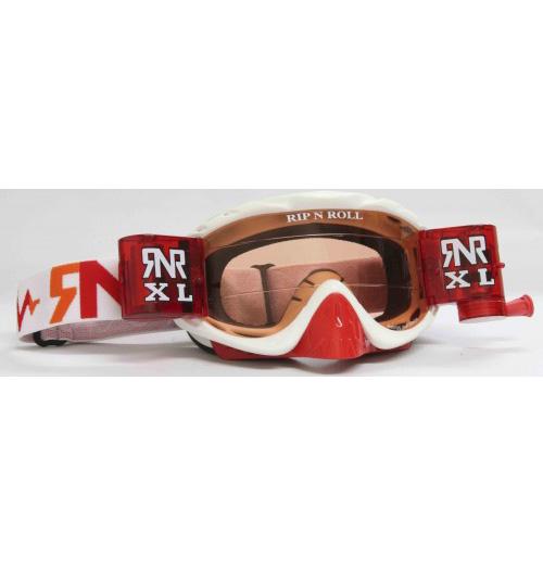 RNR 'Hybrid XL' Goggles - Red