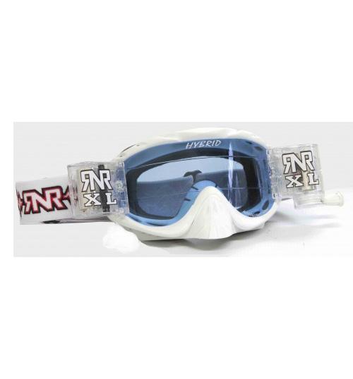 RNR 'Hybrid XL' Goggles - White