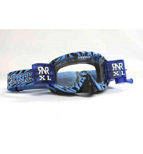 RNR 'Hybrid XL' Goggles - Wild Blue