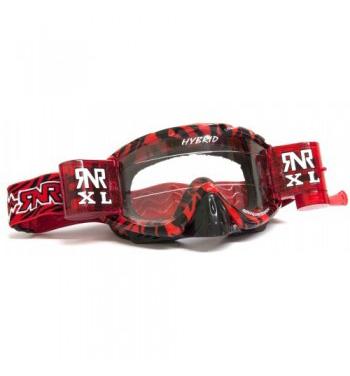 RNR 'Hybrid XL' Goggles - Wild Red