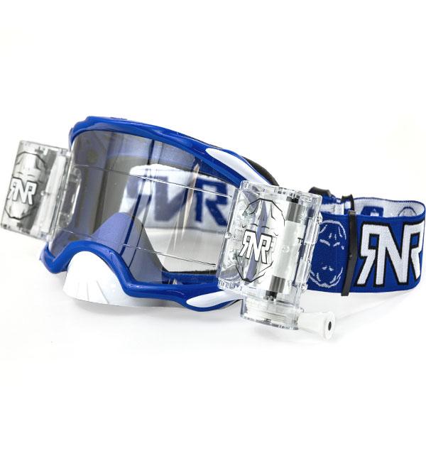 Rip N Roll RNR 'Platinum' Goggles - Blue