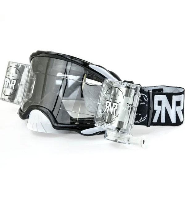 Rip N Roll RNR 'Platinum' Goggles - Black