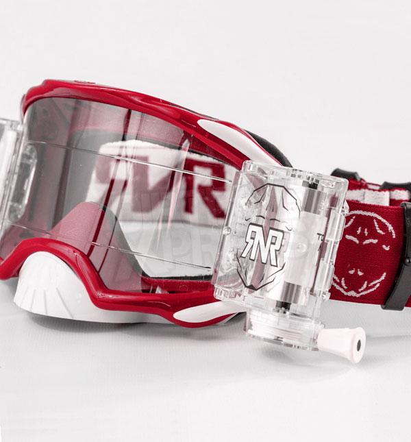 Rip N Roll RNR 'Platinum' Goggles - Red