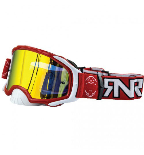 RNR 'Platinum' Goggles - Red