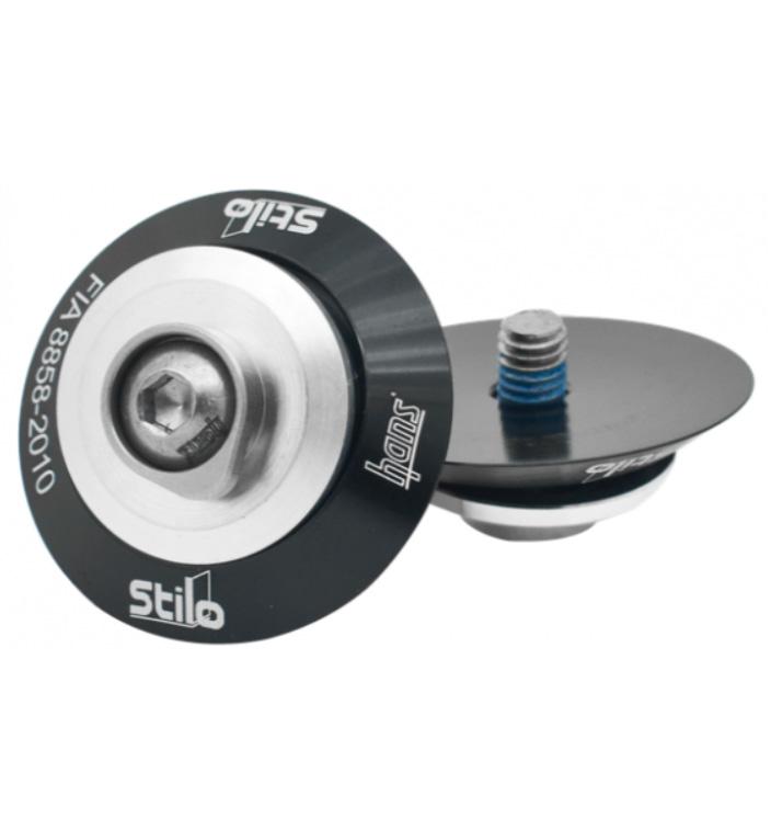 Stilo Helmet Posts (Pair) for Attachment of FHR Device - M6 Size