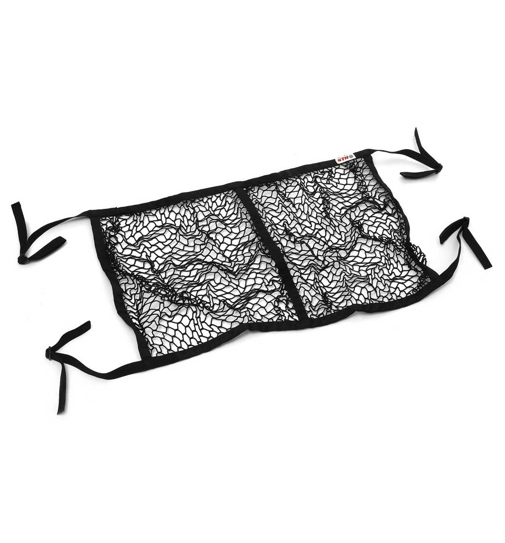 STR Rally Double Helmet Hammock/Storage Net Rally - Black
