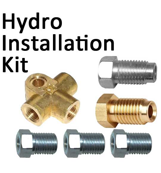 Hydro Handbrake Installation Kit