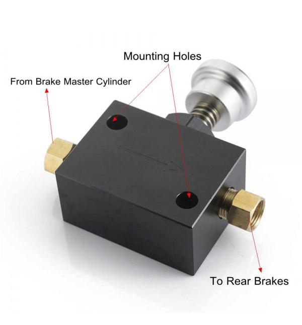 Line Lock - Hydraulic Brake Proportion Prop Valve