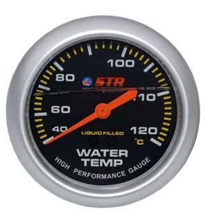 Water Temp Mechanical Liquid Filled Gauge   High Performance